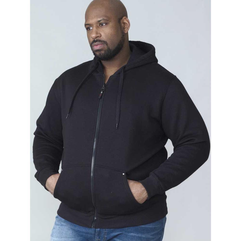 Big Mens Full-Zipper Hooded Sweatshirt
