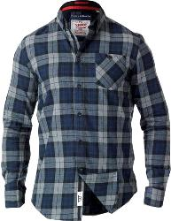 D555 Long Sleeve  Check Flannel Shirt  WATSON