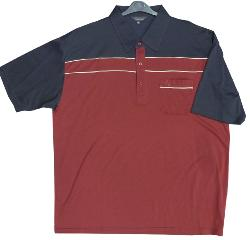 PEGASUS Soft touch Polo shirt RED 3XL