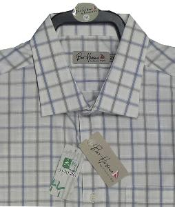 Bar Harbour BAMBOO Check shirt SAGE 4XL