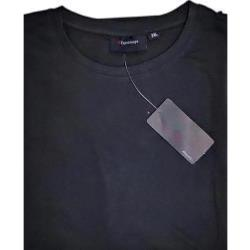 ESPIONAGE  PURE COTTON CREW NECK TEE SHIRT CHARCOAL 2XL