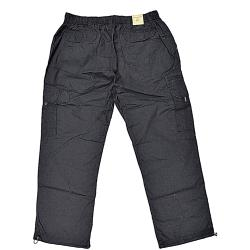 ESPIONAGE  Active  Outdoor Leisure Cotton  Cargo Trousers BLACK 2 - 8XL SHORT and REGULAR