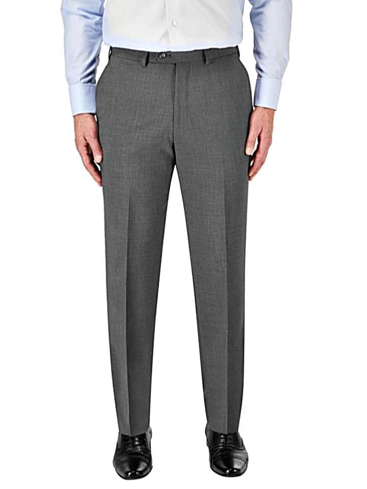 ff6618d2 SKOPES Classic Suit TROUSERS GREY