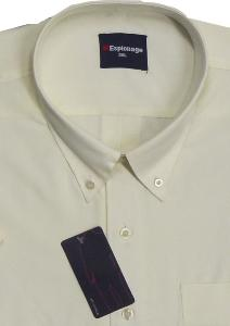 ESPIONAGE Easy Care Short Sleeve shirt BUTTERMILK 7XL