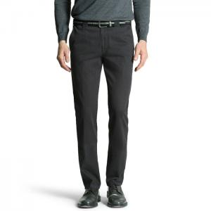 Big Mens Smart Formal Trousers - BLACK