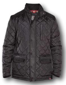 D555 Quilted Jacket with Fleece Lining with cord Trim BARTON