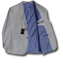CAVANI MANS Suit JACKET  REGAN SILVER GREY