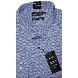 DOUBLE TWO Diamond Dobby Formal Shirt NAVY