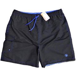ESPIONAGE Cargo Swim Short BLACK 2 - 8XL