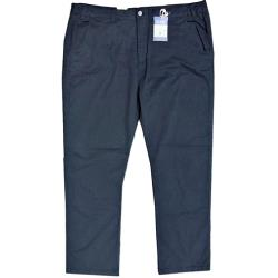 "KAM Comfort Cotton Chino with active stretch NAVY  40 - 70"" Short and Regular"