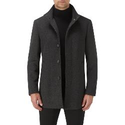 SKOPES Chelsea OverCoat  CHARCOAL TWILL
