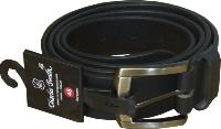 Genuine Leather Belt 35mm BLACK