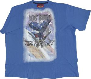 Metaphor Print Tee shirt BIG GUNS 7XL