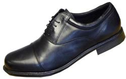 ROAMERS Lace up Capped Oxford Shoe WIDE FITTING