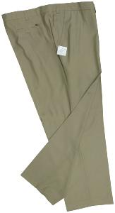 OAKMAN Crease resistant Smart-Casual trousers  TAUPE