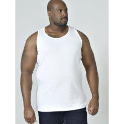 D555 BIG MENS MUSCLE VEST FABIO WHITE