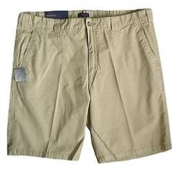 Oakman Casual Sulpher Washed Cotton Shorts SAND 64""
