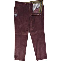 SALE - OAKMAN Quality  Comfort fit Cordurouy Trousers MULBERRY 44 - 46""