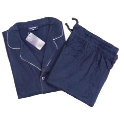ESPIONAGE Cotton Jersey Pyjamas NAVY 2XL
