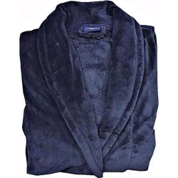 Espionage Fleece Dressing Gown DARK NAVY 3 - 8XL