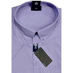 ESPIONAGE Cotton rich Short Sleeve shirt LAVENDER