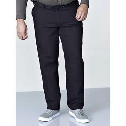 D555 Stretch Chino Pant with Xtenda Waist BLACK