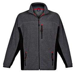 SALE - ESPIONAGE ORIGINAL BONDED RIB FLEECE JACKET GRAPHITE 2 - 8XL