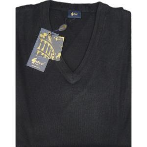 GABICCI Plain Wool Blend sweater BLACK