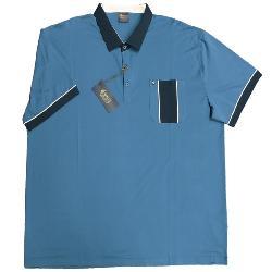 e3b56830 GABICCI Designer Vintage Classic Polo Shirt FLINT 3 - 5XL