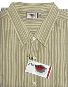 FIORENZA Casual Cotton Searsucker shirt WEBER 8XL