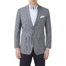 SKOPES Striped Sports Jacket BLUE/GREY STRIPE