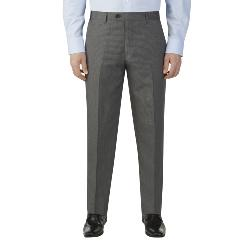 "SKOPES HAIRLINE STRIPE SUIT TROUSERS GREY STRIPE PEDLEY 44 - 72"" WAIST SHORT AND REGULAR"