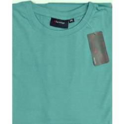 ESPIONAGE PURE COTTON CREW NECK TEE SHIRT AQUA 2 - 8XL