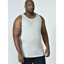 D555 BIG MENS MUSCLE VEST FABIO MARL GREY
