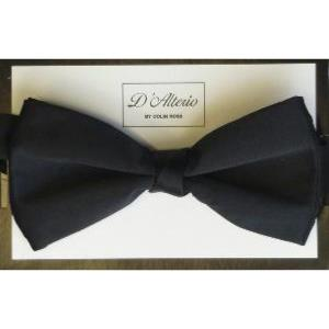 EXTRA LONG BOW TIE - BLACK