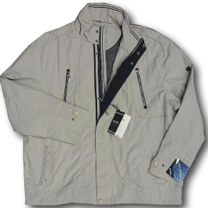 SAXON Lightweight Showerproof Zipper STONE 7XL