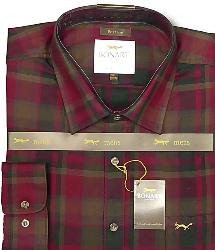 SALE - BONART Original Town and Country Check shirt PORTREE 4XL