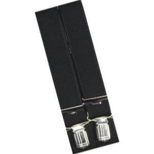 SPEICKER Long Braces PLAIN BLACK