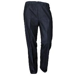 "CARABOU CASUAL RUGBY TROUSERS WITH ELASTICATED WAIST - NAVY  44 - 60"" S/R"