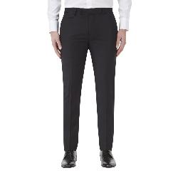 "SKOPES TAILORED DRESS TROUSER BLACK SHADOW CHECK NEWMAN 44 - 62"" WAIST"