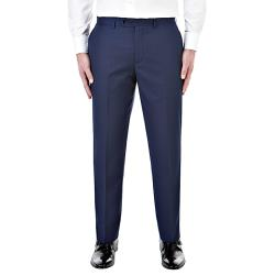 "SKOPES CONTEMPORARY SUIT TROUSERS BLUE JOSS 44 - 70"" WAIST S/R"