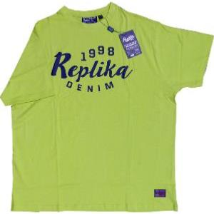 REPLIKA JEANS Tee Shirt 1998 LIME GREEN 4xl