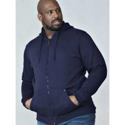 King Size  Duke ROCKFORD Full Zip Hooded Sweatshirt CANTOR NAVY