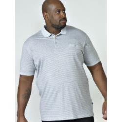 D555  PURE COTTON  POLO WITH ALL OVER PRINT AND CHEST POCKET ELIJAH 3 - 6XL