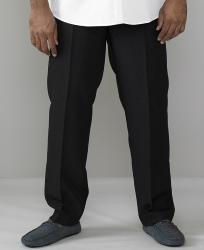 D555  X-t-e-n-d-A Stretch Waist trouser BLACK