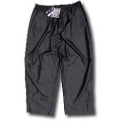 KAM  WATERPROOF  LIGHTWEIGHT  OVER TROUSERS BLACK