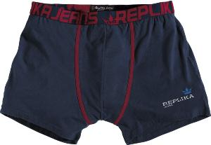 REPLIKA JEANS Fashion Trunks NAVY