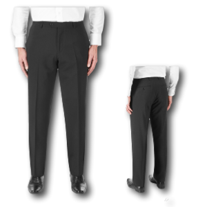 SKOPES Classic Suit TROUSERS BLACK
