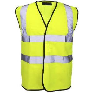 BROOKLYN ESSENTIAL WORKWEAR HI-VIS VEST