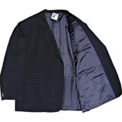 Skopes Wool Stretch Suit NAVY PInstripe Jacket
